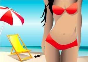 bikini and beach