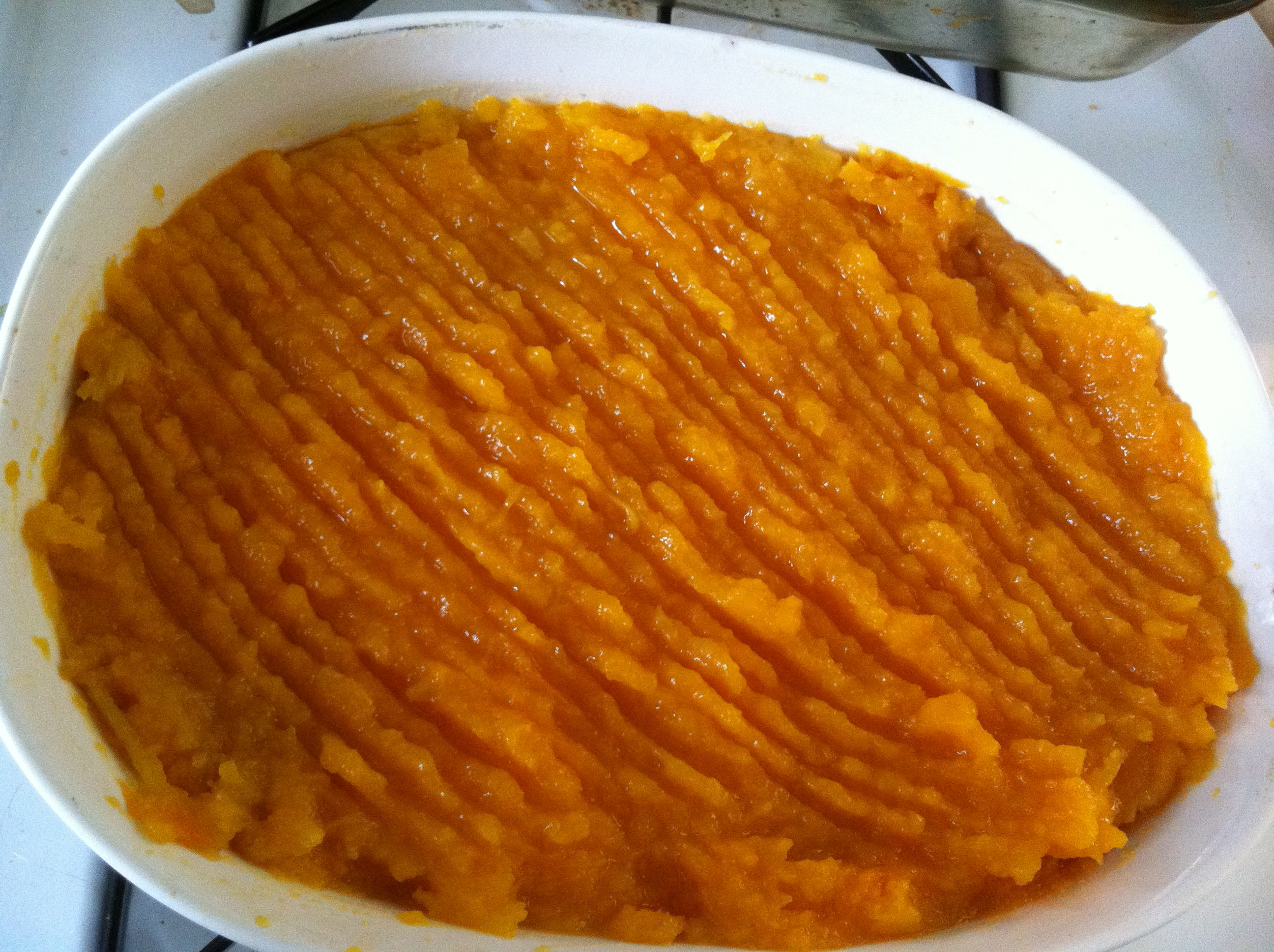 how to cook mashed butternut squash