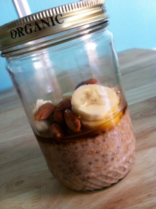Jars aren't just for picnics. They're earth-friendly containers for taking lunch or snacks to work!